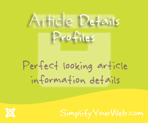 Check out Article Details Profiles now!