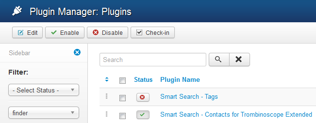 Smart Search plugins