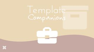 Template companions package