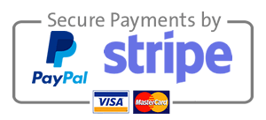 PayPal Stripe secure payment gateways